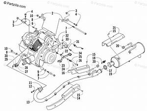 Arctic Cat Atv 2005 Oem Parts Diagram For Engine And