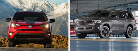 differences  toyota crossovers  suvs