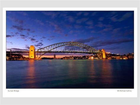 photography wall art sydney harbour bridge sunset vr shop