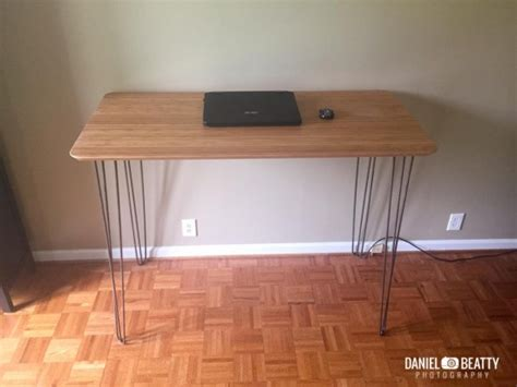 bureau bambou bureau en bambou et métal bidouilles ikea