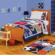 Sports Themed Bedroom Accessories American Kids All Stars Twin Full Comforter