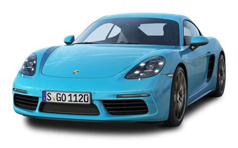 porsche transparent porsche 718 cayman s blue car png image pngpix