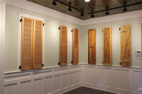 wood shutters ford lumber millwork company