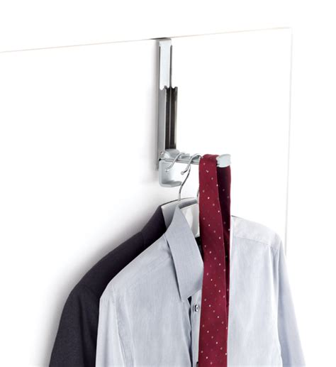 the door clothes hanger rack oxo organization store