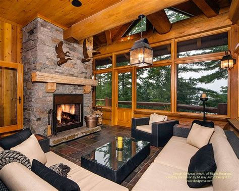 modern homes interiors 22 luxurious log cabin interiors you to see log