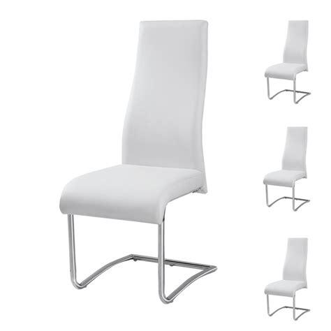 quatuor de chaises rome univers salle 224 manger tousmesmeubles