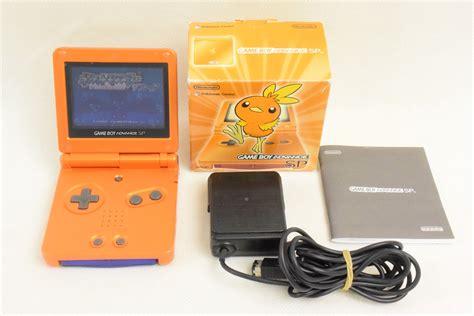 Game Boy Advance Sp Achamo Orange Console Ags 001 Boxed