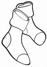 Socks Coloring Pages Socks3 sketch template