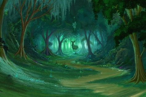 Animated Forest Wallpaper - green forest background 183