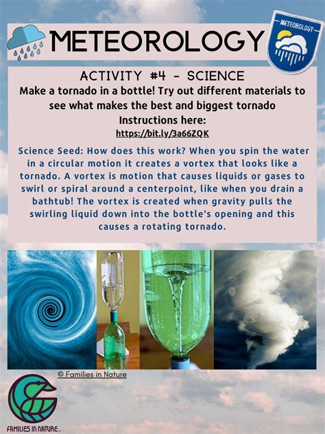meteorology sample lessons families  nature