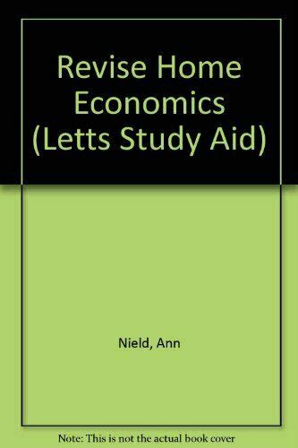 Revise Home Economics (Letts Study Aid) by Hesmondhaigh ...