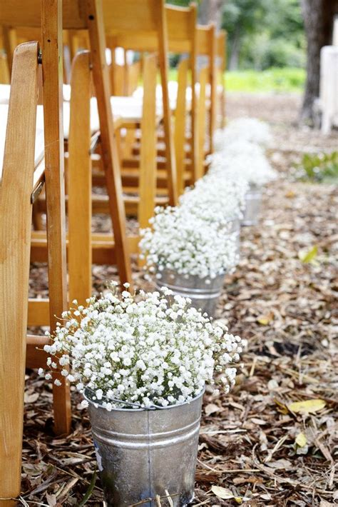 68 Babys Breath Wedding Ideas For Rustic Weddings Deer