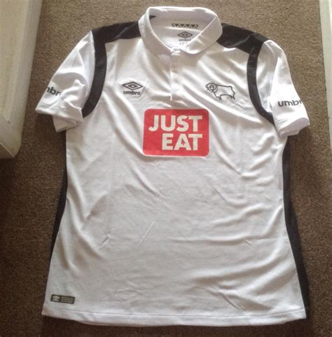 Derby County Home football shirt 2016 - 2017. Sponsored by ...