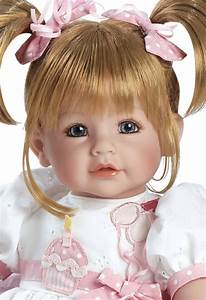 """Adora 20"""" Realistic ToddlerTime Baby Dolls for Kids Happy"""
