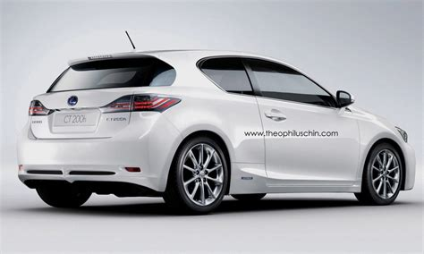 lexus hatchback modded lexus ct 200h coupe front