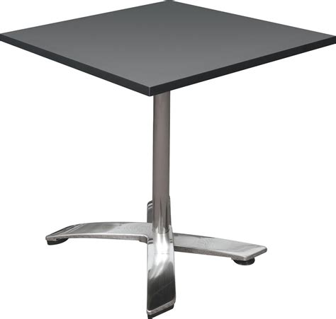counter height square folding table square bistro event table portable pub height black top
