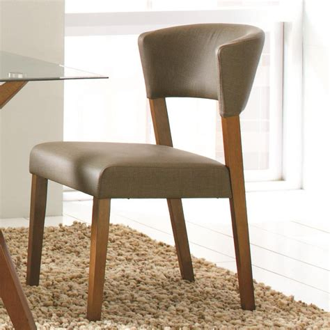 Grey Upholstered Dining Chairs Decofurnish