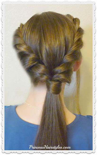 Hairstyles Double Easy Ponytail Twist Hairstyle Braids