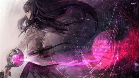 Anime Magic Wallpaper - madoka magica wallpapers wallpaper cave