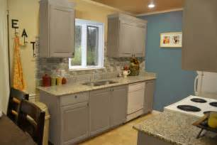 ideas for painted kitchen cabinets small kitchen design with exposed backsplash and