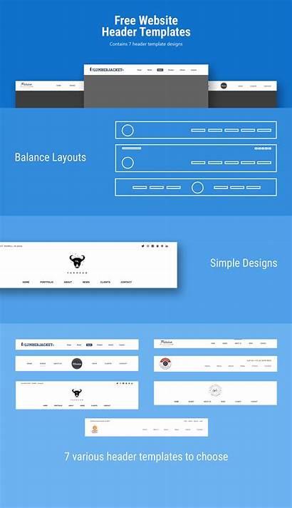 Header Website Templates Behance Mir Project