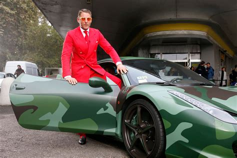 The Crazy Suits And Outrageous Cars At Lapo Elkann's