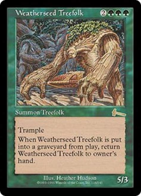 Mtg Green Treefolk Deck by Multiplayer Of Fame Green Magic The Gathering