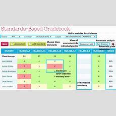 Overview Of The Standards Based Gradebook  Quickschools Support