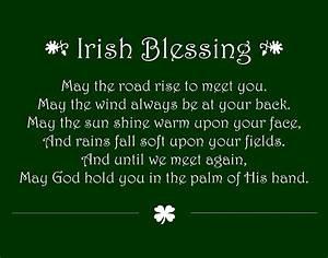 Irish Blessing Digital Art by Jaime Friedman