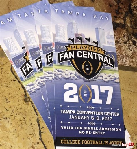2017 College Football Chionship Fan Fest Tickets