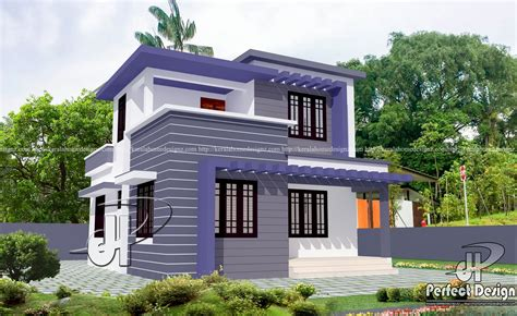 Modern Double Floor Home Design And Plan  Kerala Home Design