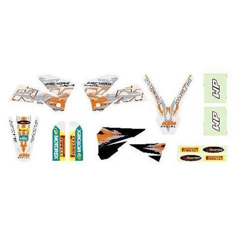 kit deco 125 sx 2003 kit deco blanc sx 2003 2006 kit deco sx 125 200 250 400 450 525 2003 2006pour les models 2003