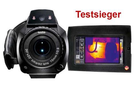 Thermografie So Machen Sie Waermeverluste Am Haus Sichtbar by W 228 Rmebildkamera Testo Spart Heizkosten