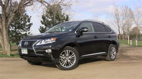 lexus crossover black review 2013 lexus rx 450h awd responsible opulence