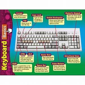 Computer Keyboard Parts Name