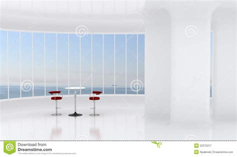 white office interior background stock illustration