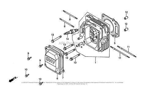 Honda Sxa Lawn Mower Jpn Vin Macr Parts