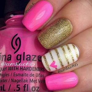 Most beautiful 25 Summer Nail Designs - yve-style.com