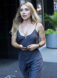Olesya Rulin on the Set of 'Younger' in NYC 8/23/2016
