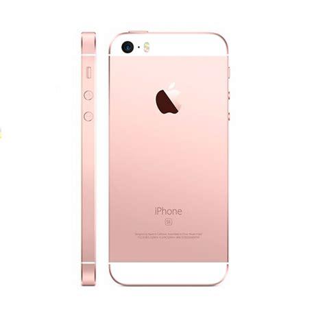 apple iphone se rose gold  gb price  india buy