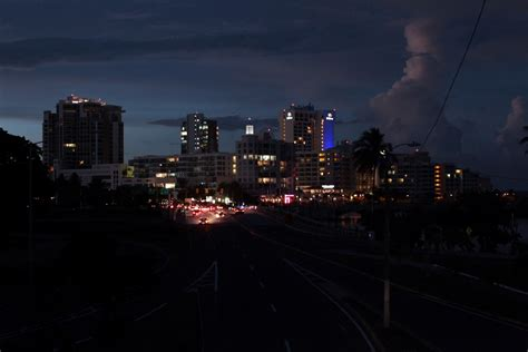 Regions list of puerto rico with capital and administrative centers are marked. Puerto Rico plunges into darkness with 1.5 million residents left without power as fire breaks out