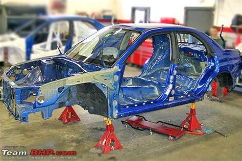 Subaru Rally Car Building Process.