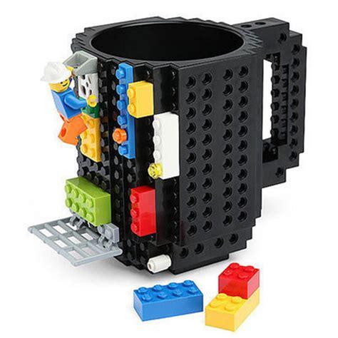 Kitchen Gadget Gift Ideas - drinkware mugs 1piece build on brick creative mug lego type building blocks coffee cup diy block