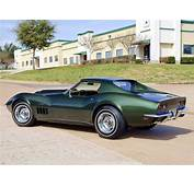 1969 427 C3 Coupe… In Fathom Green  Cars Chevrolet