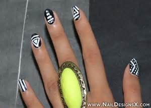 Lines nail design designs art