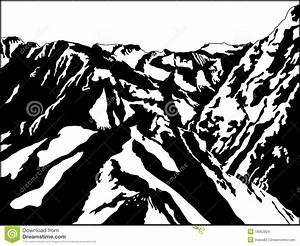 Black And White Mountain Stock Images - Image: 19062824