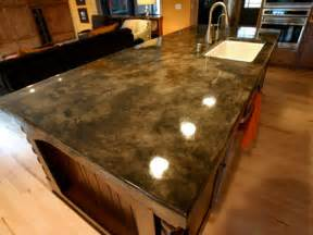 concrete countertop sting and staining options