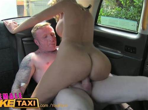 Breasty Bbw Rimming And Getting In Fake Taxi