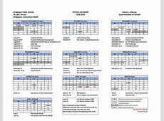 20182019 School Calendar 20182019 school calendar