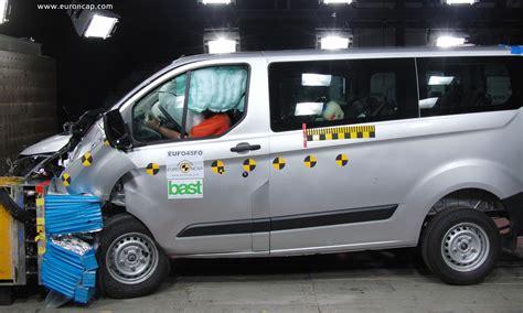 ford transit custom ladefläche ncap crash test per i furgoni i risultati